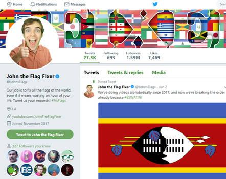 John the Flag Fixer