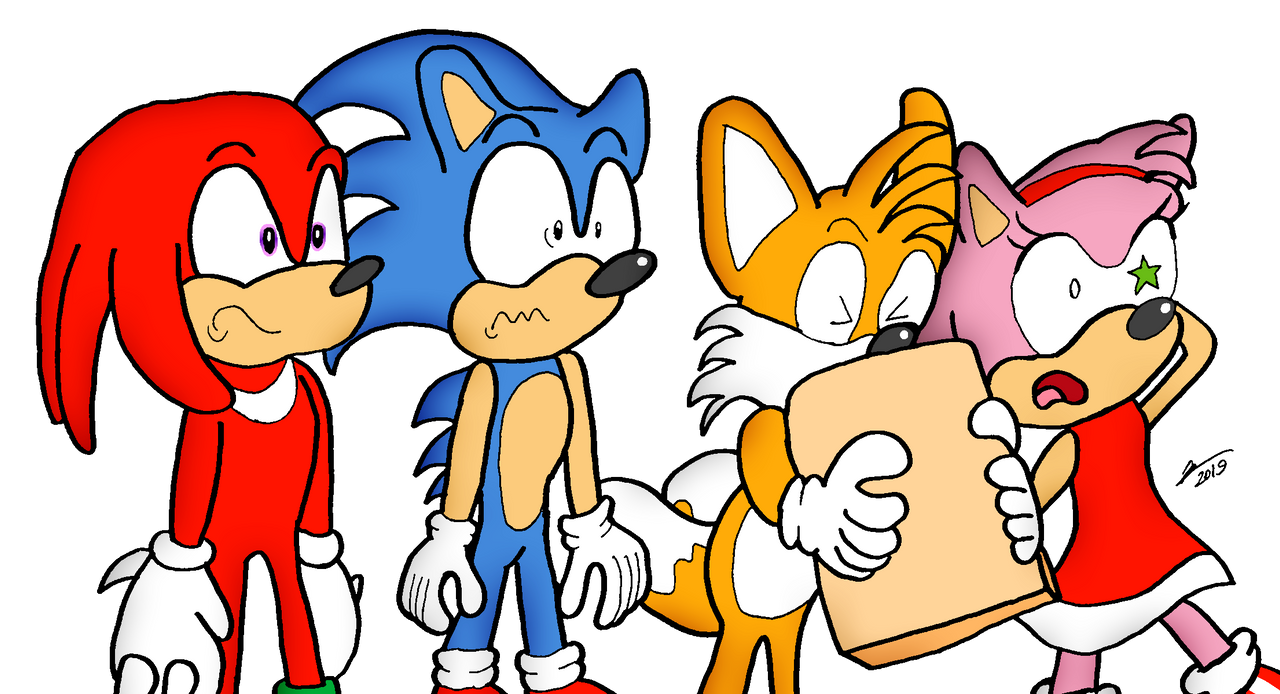 Reacting To The Sonic Movie Trailer By Hassanlechkar On Deviantart