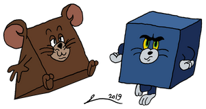 Tomcube and Jerrytriangle