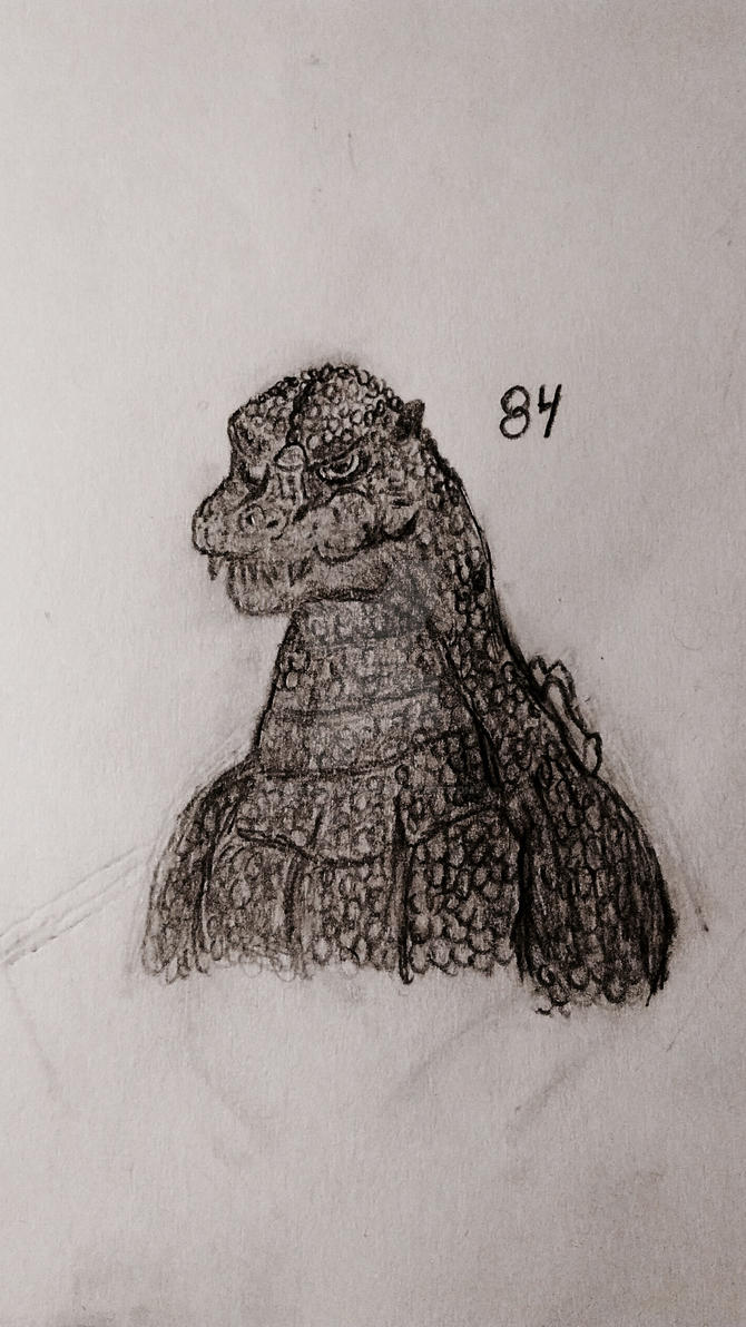 Godzilla 1984 (EighthFourGoji) by CasparySmith