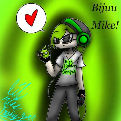 Bijuu Mike fan art  by lilmissfryingpan