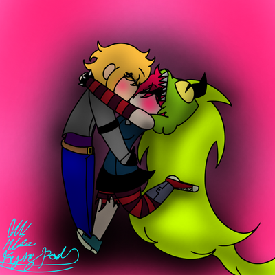 Oc and demencia (Request johnnArtRequesterx) by lilmissfryingpan