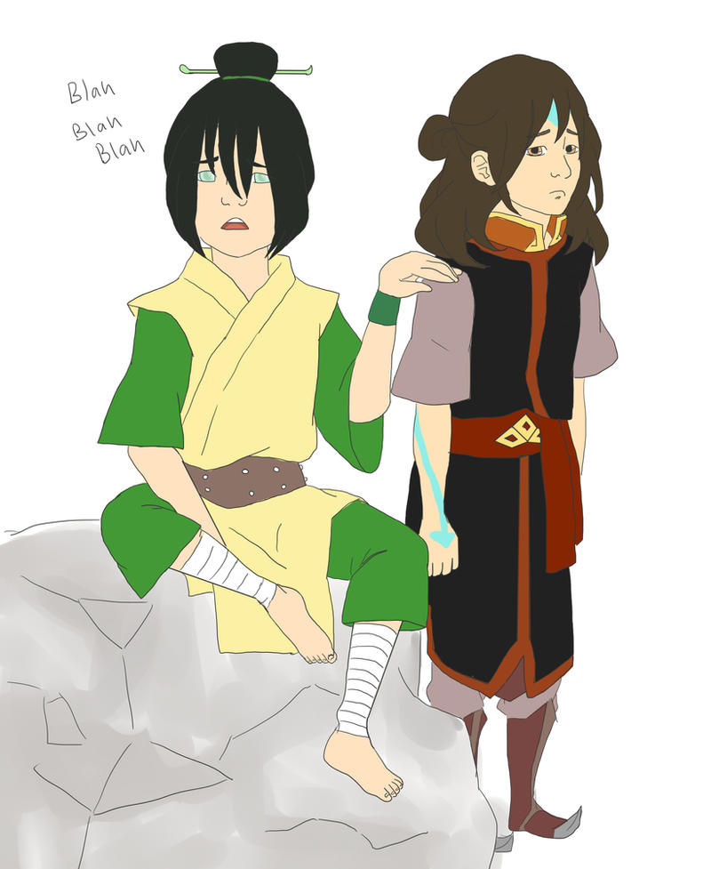 Any more Aang e toph sexy image much prompt