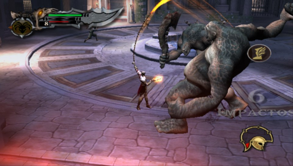God of war 1 capitulo 2 derrota ciclopes by alex12357 on DeviantArt