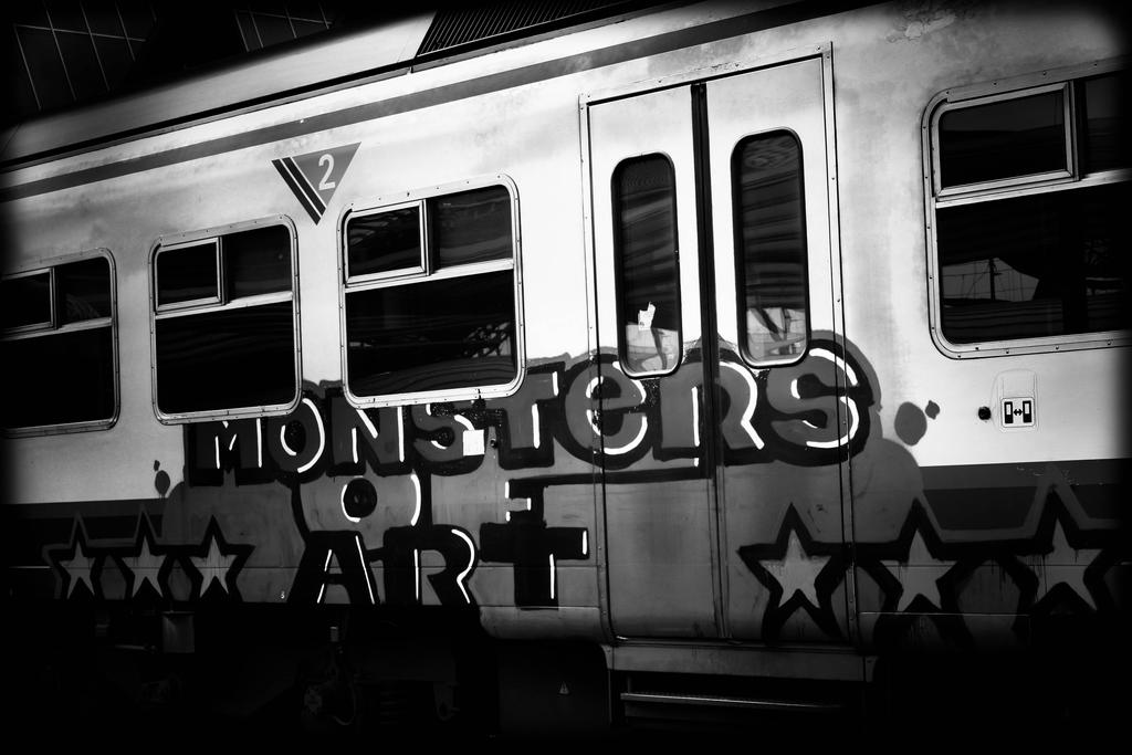 Monsters of art by SpiderCoffee