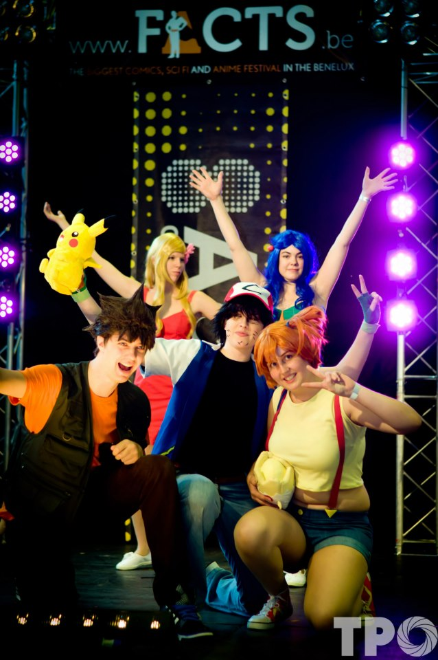 Pokemon group 2012 by SpiderCoffee