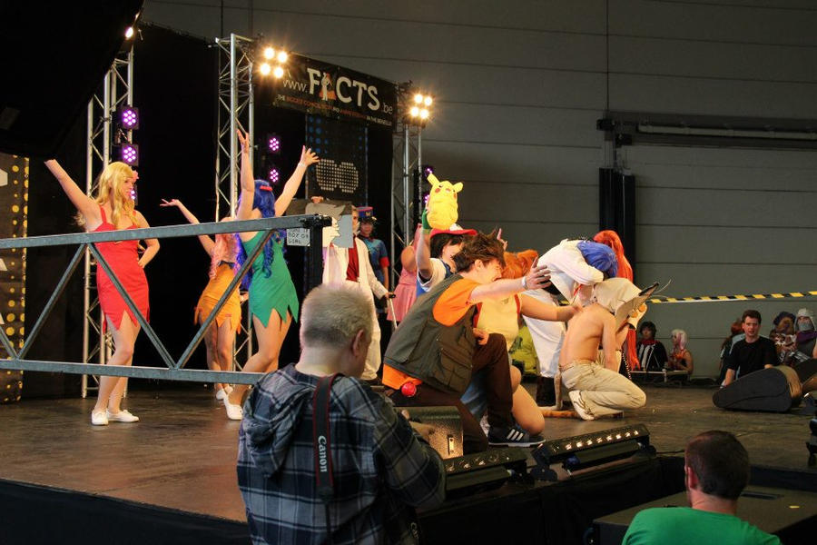 STAGE PICTURE POKEMON 2 by SpiderCoffee