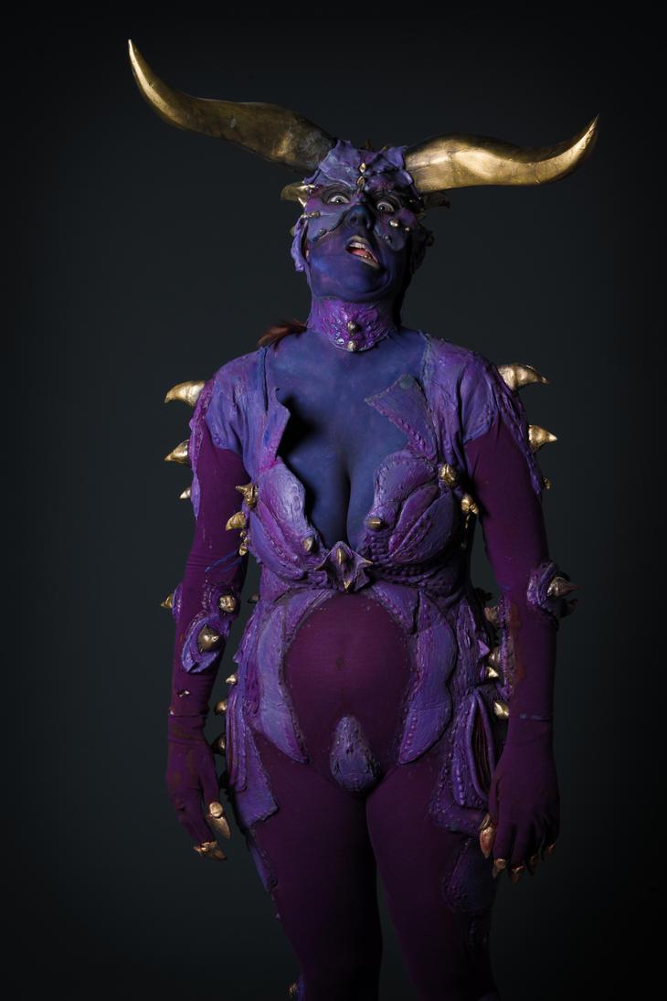 Asmodeus the....derp demon?? by SpiderCoffee