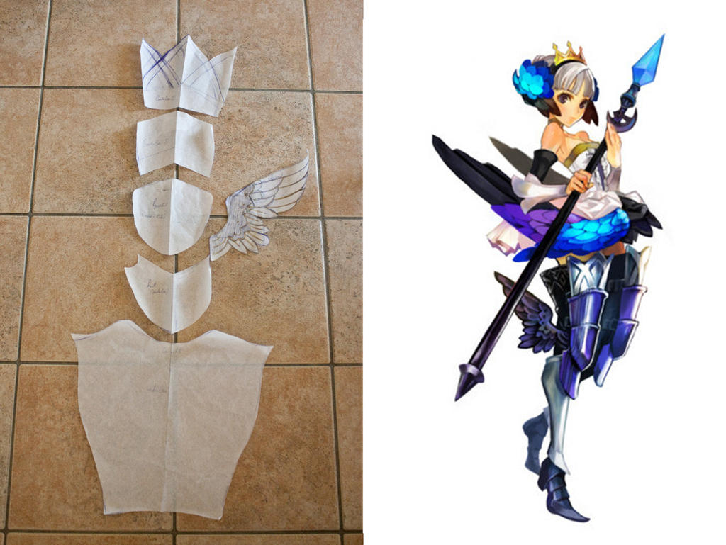 Gwendolyn Odin Sphere patterns!! by SpiderCoffee