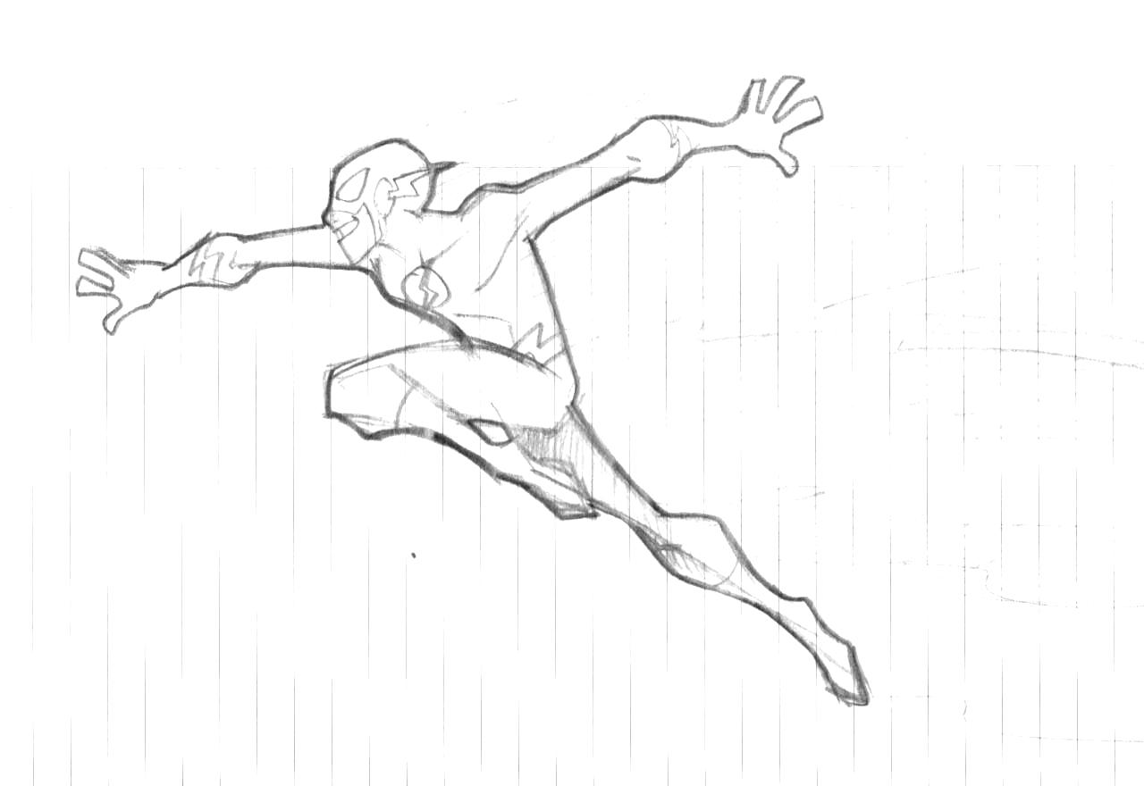 The Flash Sketch