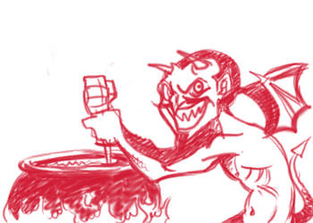 Devil Funny by splendidriver
