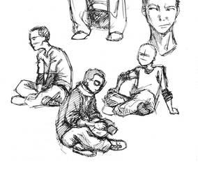 Sketch: Poses by splendidriver