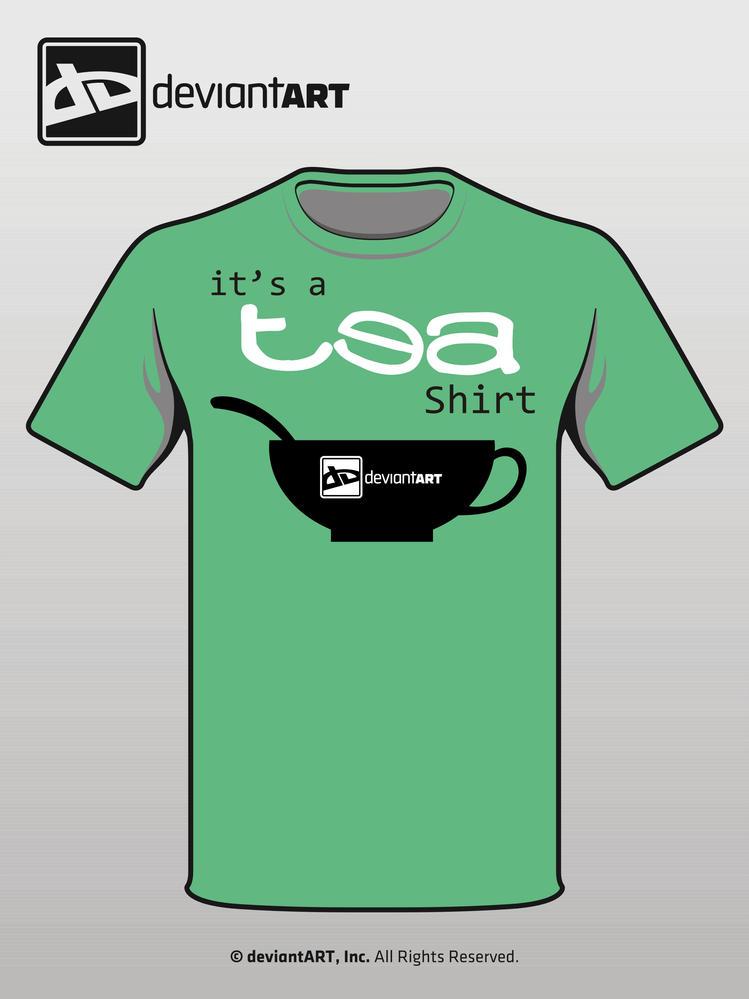 It's a TEA-shirt by splendidriver