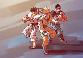 Manly-trio