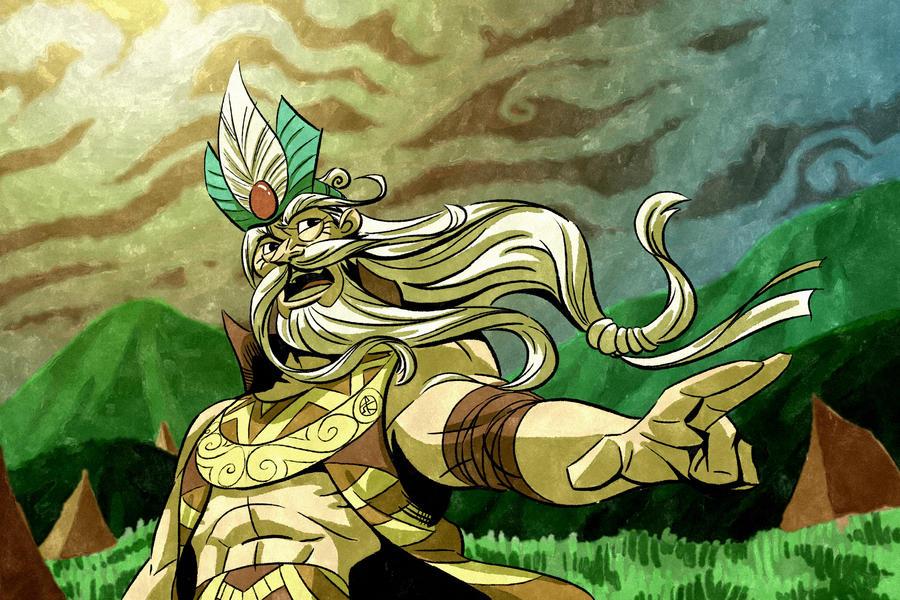 Emperor Hung Vuong by splendidriver
