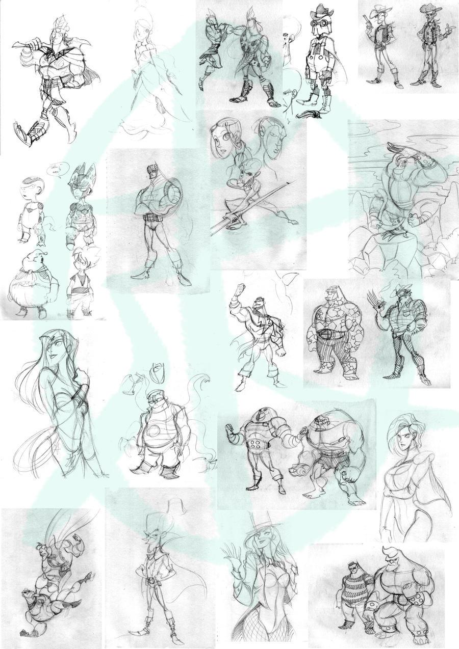 Splendid River's Sketchbook