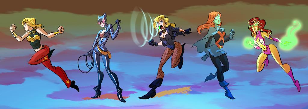 DC Girls 1 by splendidriver