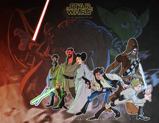 Star Wars by splendidriver