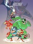 The Wacky Avengers