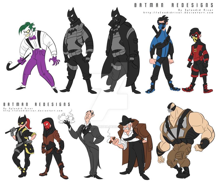Batman Re-designs