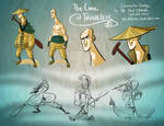 The Lone Traveler Design Sheet