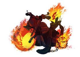 Ghost Rider by splendidriver