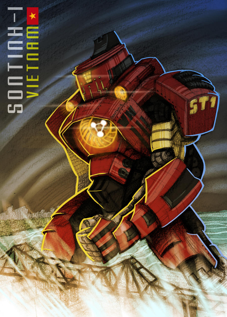 sontinh1 pacific rim inspired by splendidriver on