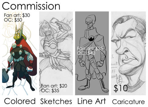 Open for Commission