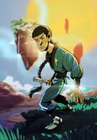 Jedi Ninja Spock Na'vi by splendidriver