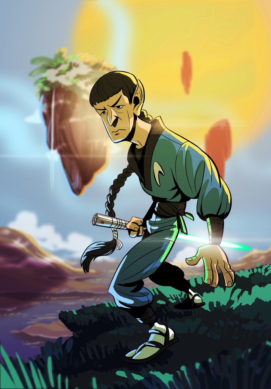 Jedi Ninja Spock Na'vi