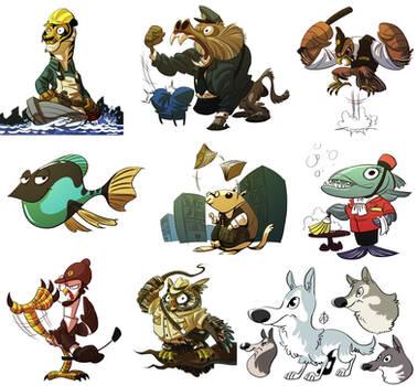 Animals by splendidriver