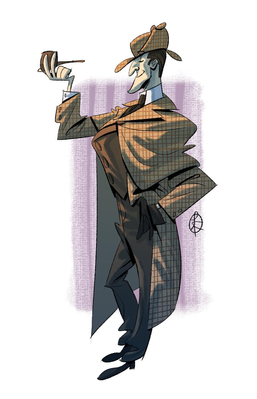 http://splendidriver.deviantart.com/art/The-real-Sherlock-Holmes-436324557