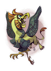 Griffin by splendidriver