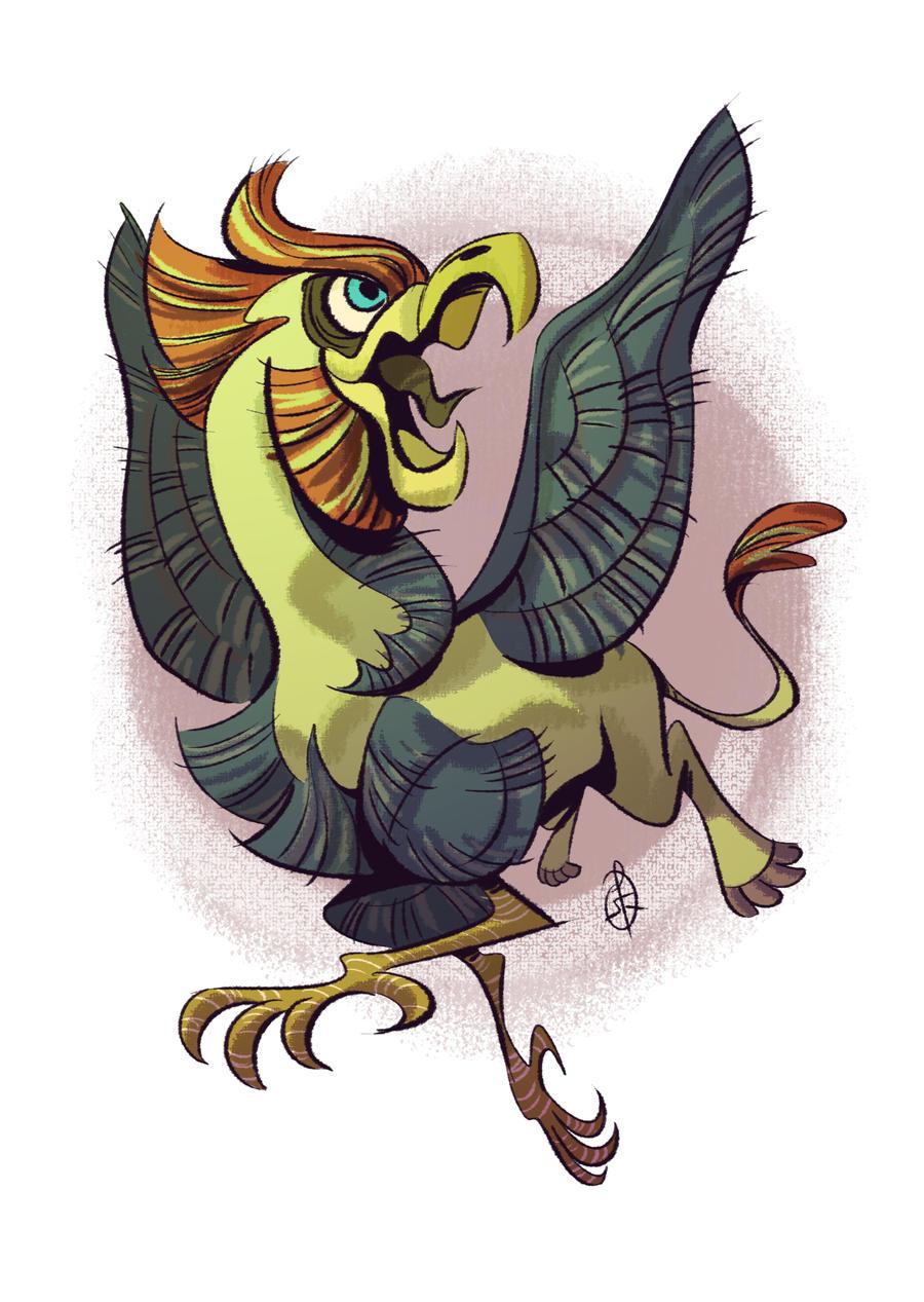 http://splendidriver.deviantart.com/art/Griffin-437805719