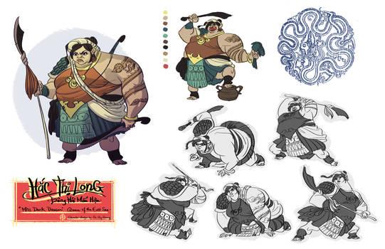 Hac Thi Long - Character Design