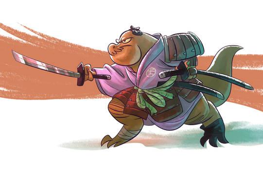 Samurai T-Rex