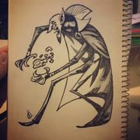 The Vampire by splendidriver