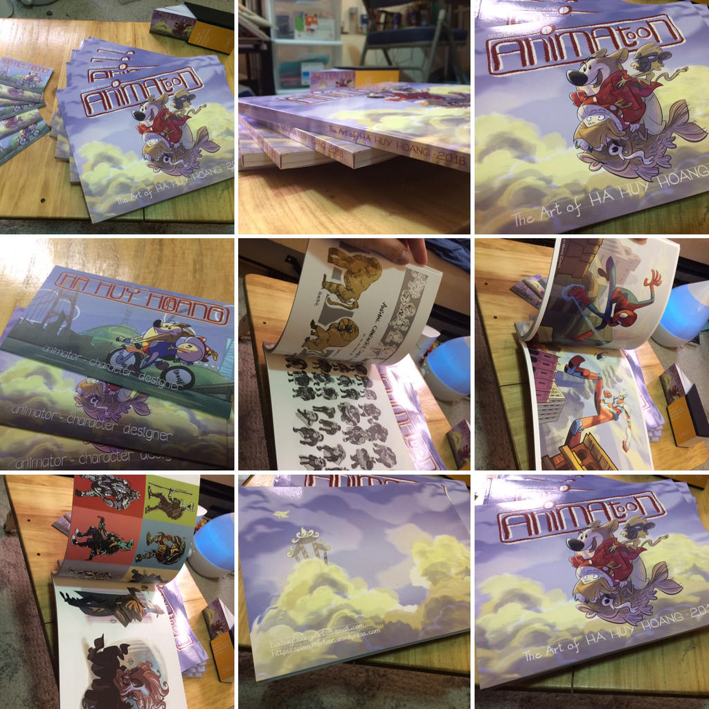 Animatoon - 2016 Artbook by splendidriver