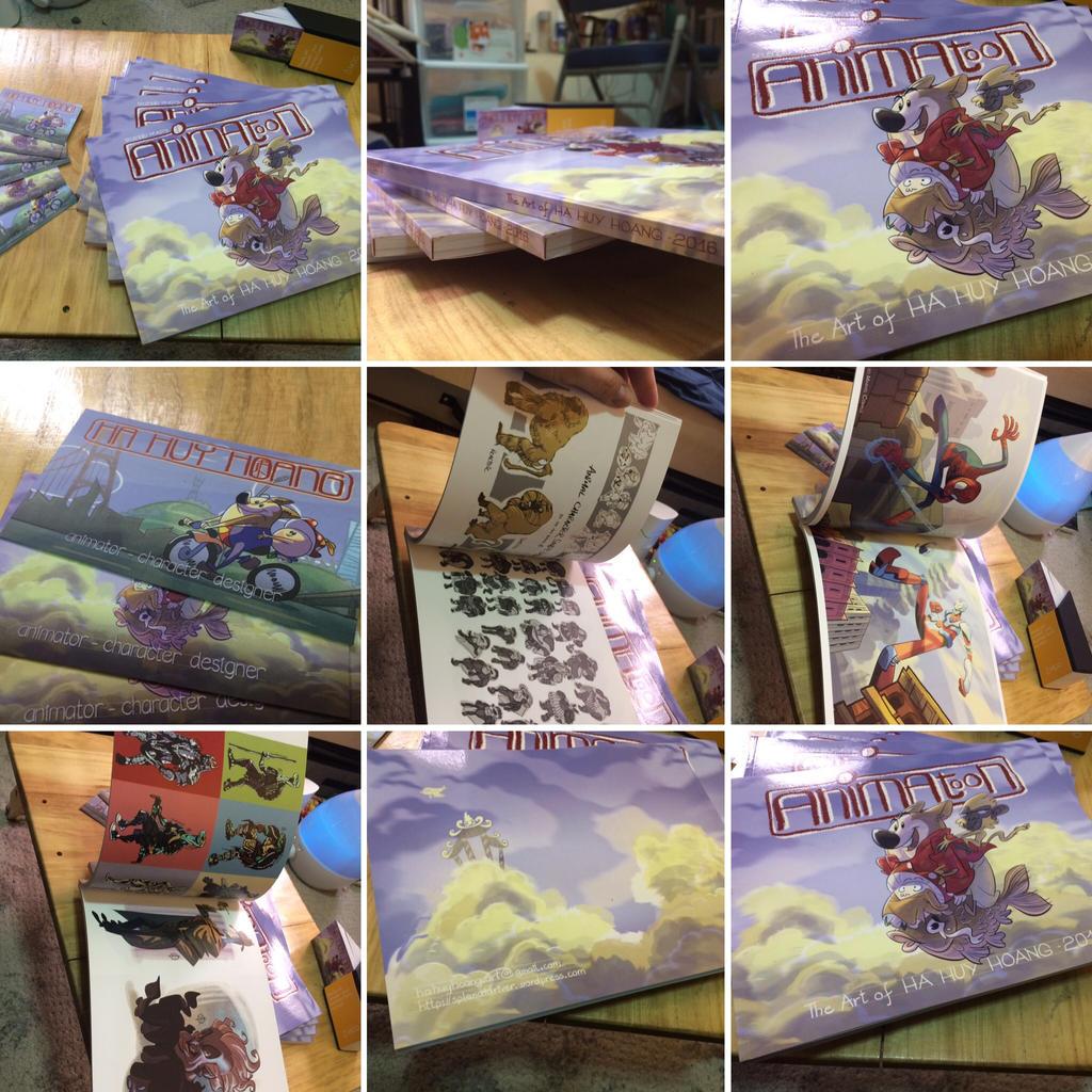 Animatoon - 2016 Artbook