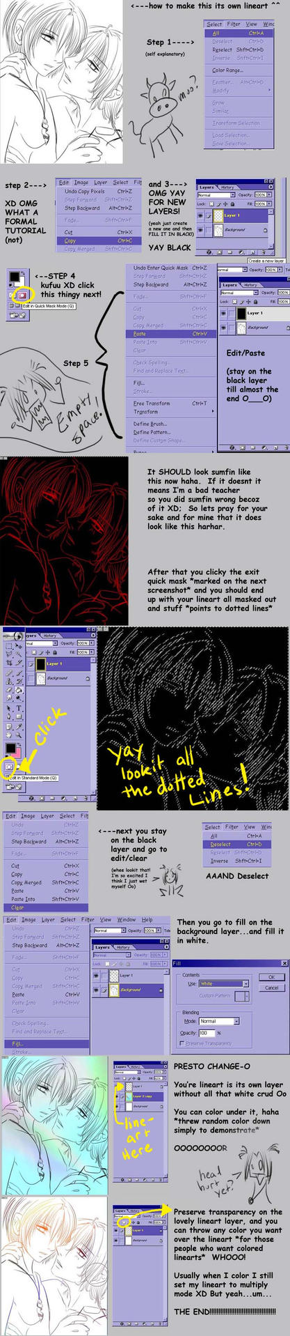 Making Lineart its Own Layer by Checkered-Fedora