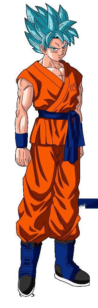Goku Super Saiyan God ...