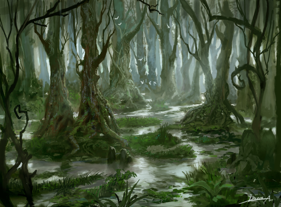 Swamp by Lyno3ghe