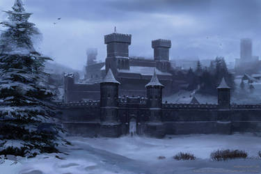 Winterfell by Lyno3ghe