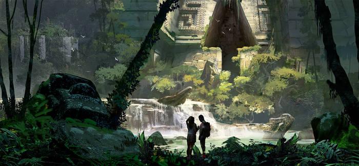 Couple in Jungle