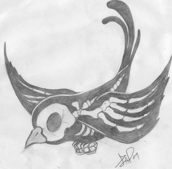 Blackbird tattoo by ~2corpses on deviantART