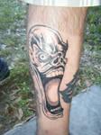 Clown tattoo 1