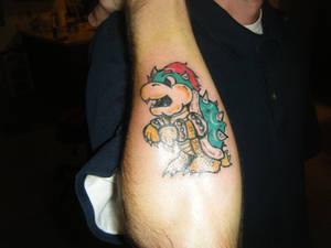 Bowser tattoo