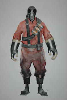 PYRO: front view
