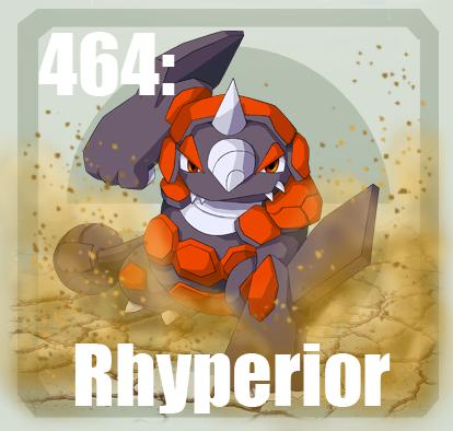464 Rhyperior by Pokedex on DeviantArt