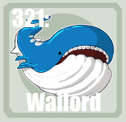 shiny wailord pokemon x  321 Wailord by Pokedex